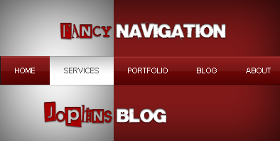 Fancy Navigation with CSS & jQuery