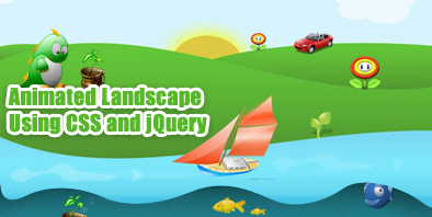 Animated Landscape Using CSS and jQuery