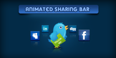 Animated Sharing Bar With jQuery & CSS
