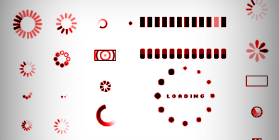 Ajax Style Loading Animation in CSS3 ( no Images )