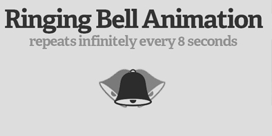 Ring a Bell with CSS Keyframe Animations